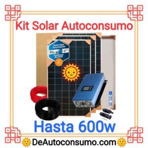 Kit Solar Autoconsumo Básico hasta 600w