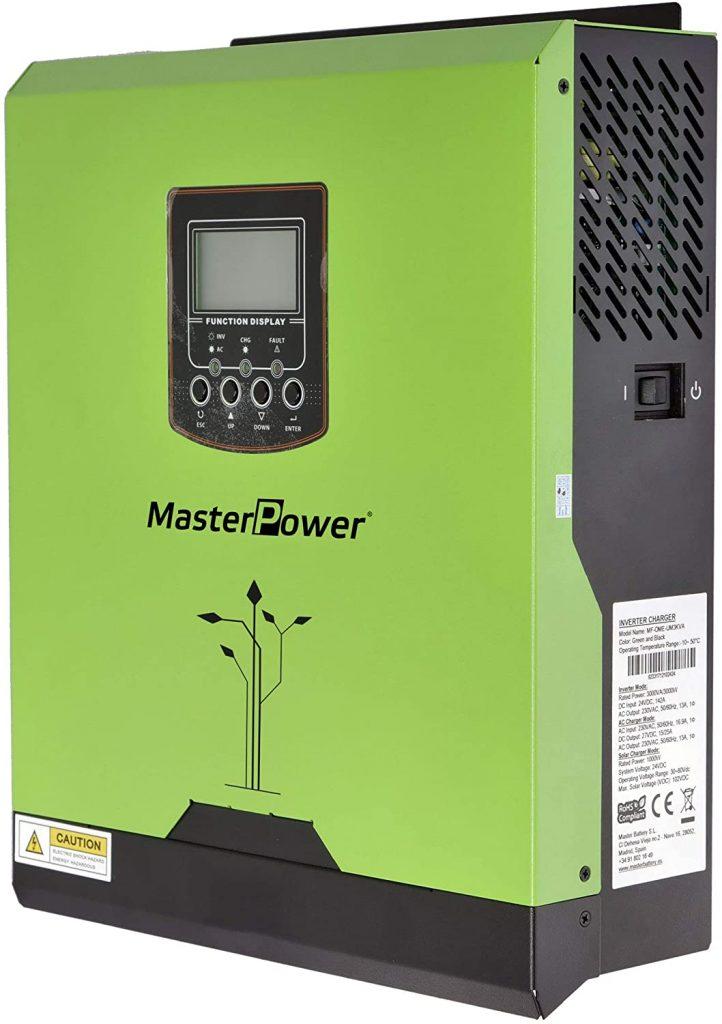 inversor cargador hibrido 3000w 24v mppt
