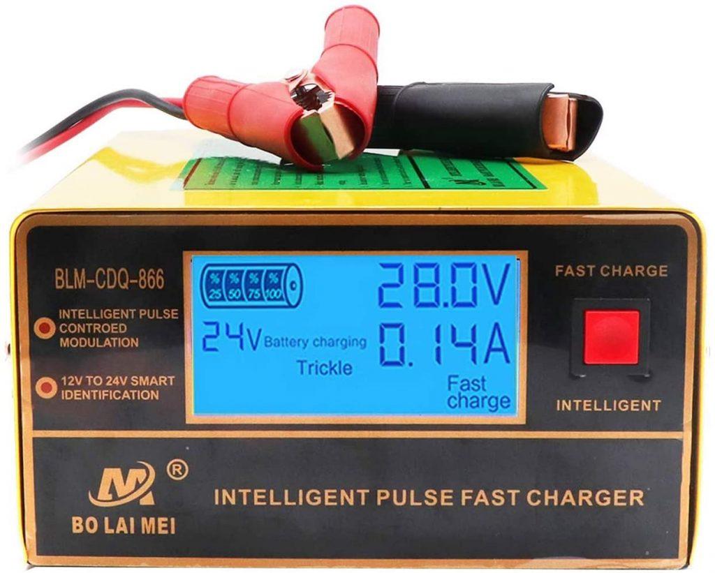 Cargador de baterías inteligente