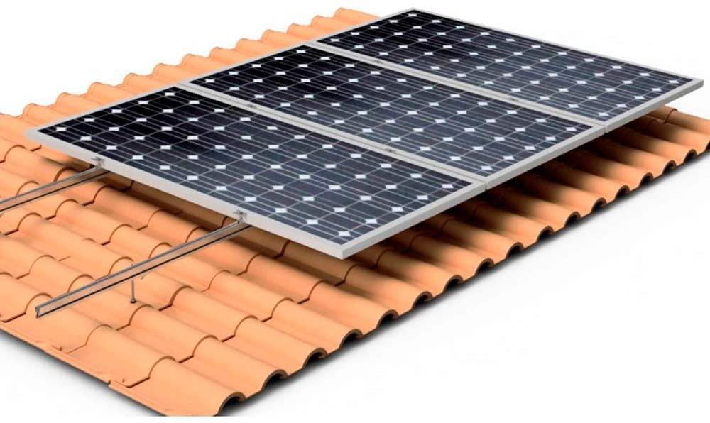 estructura placas solares tejado