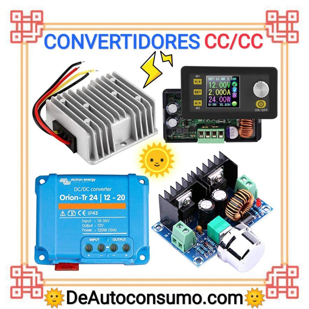 Mejores convertidores de corriente buck, booster, buck booster