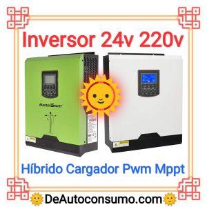 Inversor 24v a 220v