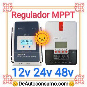 Regulador MPPT 12v 24v 48v