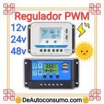 Regulador PWM 12v 24v 48v