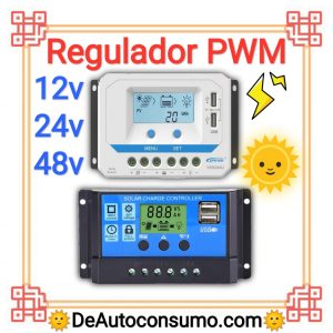 Regulador PWM 12v 24v 48v