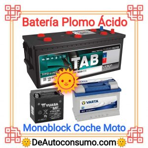 Batería Plomo Ácido
