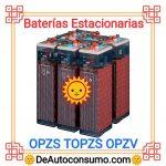 Baterías Estacionarias OPZS TOPZS OPZV