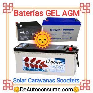 Baterías de GEL AGM