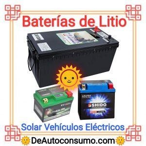 Baterías de Litio