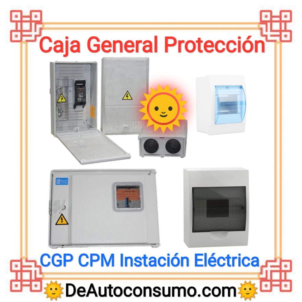 Caja General de Protección CGP CPM Instalación Eléctrica