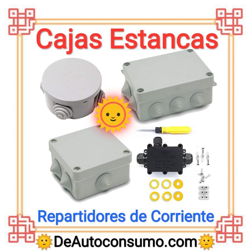 Cajas Estancas Conexiones Eléctricas Repartidores de Corriente