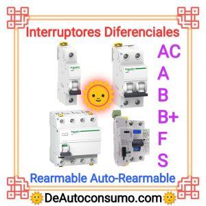 Interruptores Diferenciales