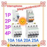 Interruptores Magnetotérmicos Unipolares Bipolares Tripolares Tetrapolares