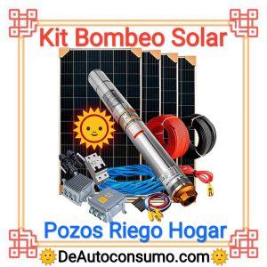 Kit Bombeo Solar