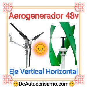 Aerogenerador 48v
