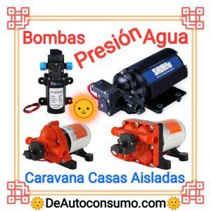 Bombas de Presión de Agua Caravana Casas Aisladas