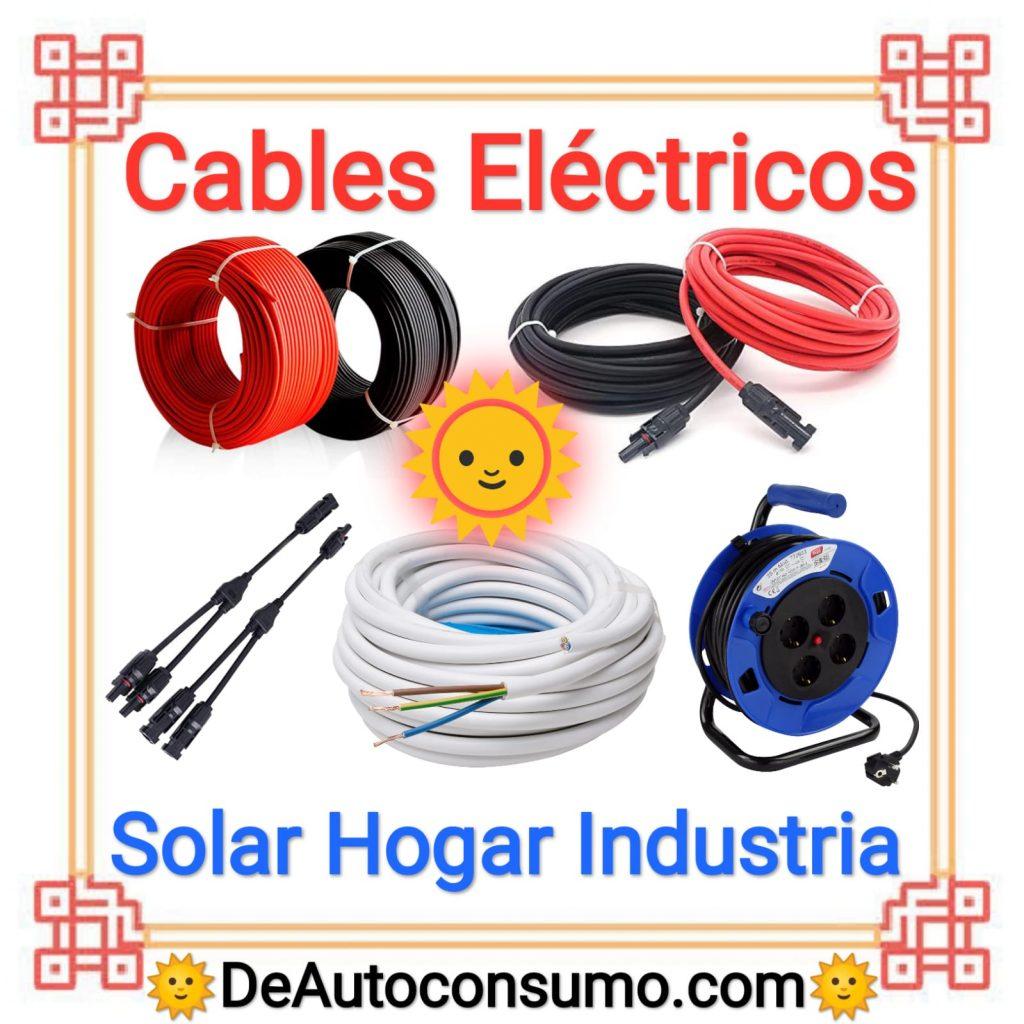 Cables Eléctricos Solar Hogar Eléctrico