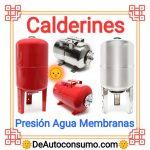Calderines Bombas Presión Agua Repuestos Membranas
