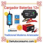 Cargador Baterías 12v Tradicional Moderno Arrancador Coche Moto