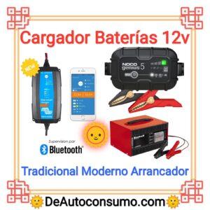 Cargador Baterías 12v
