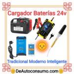 Cargador Baterías 24v Tradicional Moderno Inteligente Vehículos Solar