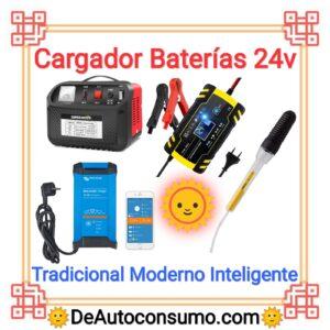 Cargador Baterías 24v