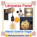 Lámparas de Pared Interior Exterior Hogar Dormitorio Infantiles