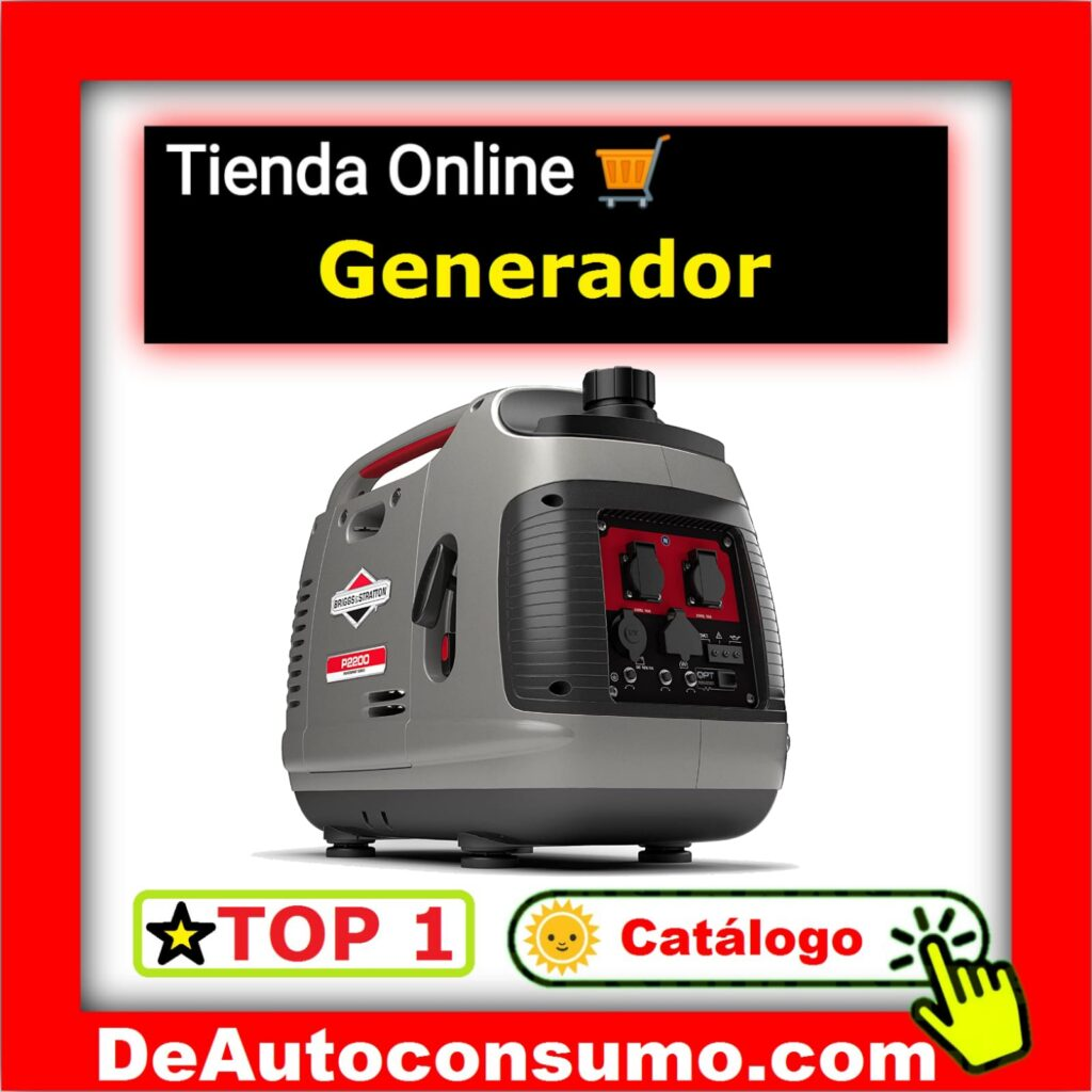 Generadores Eléctricos Diesel Gasolina Inverter Generador