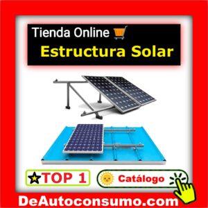 Estructura o soporte placas solares
