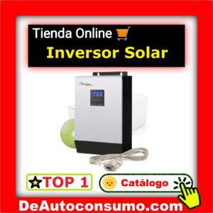 Inversores Solares 12v 24v 48v Conexión Red Microinversor Convertidor Corriente PWM MPPT