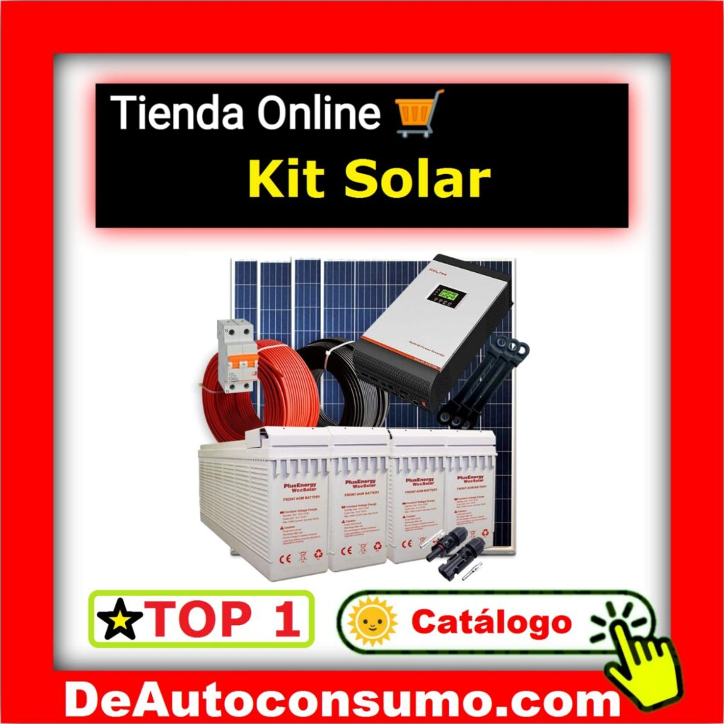 Kits Solares Hogar Industria Bombeo Solar Depuradora Piscina Autoconsumo