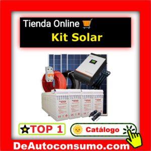 kits solares de conexión aislada baratos